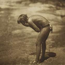 The Morning Bath - Apache (1906)
