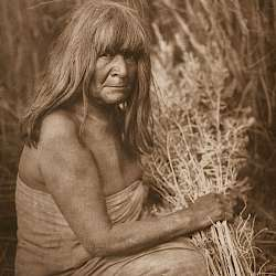 Hipah with Arrow - brush - Maricopa (1907)