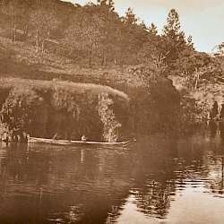 On Klickitat River (c) (1910)