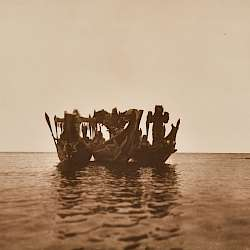 Masked Dancers in Canoes - Qagyuhl (1914)