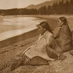On the Shores at Nootka (1915)