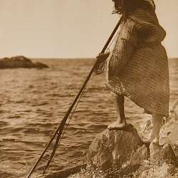 Nootka Method of Spearing (1915)