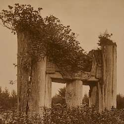 A Haida Chief's Tomb at Yan (1915)