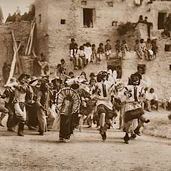 Buffalo Dance at Hano (1921)
