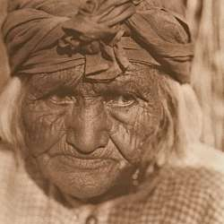 A Diegueno Woman of Santa Ysabel (1924)