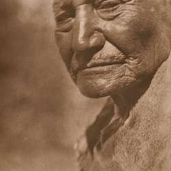 An Aged Paviotso of Pyramid Lake (1924)